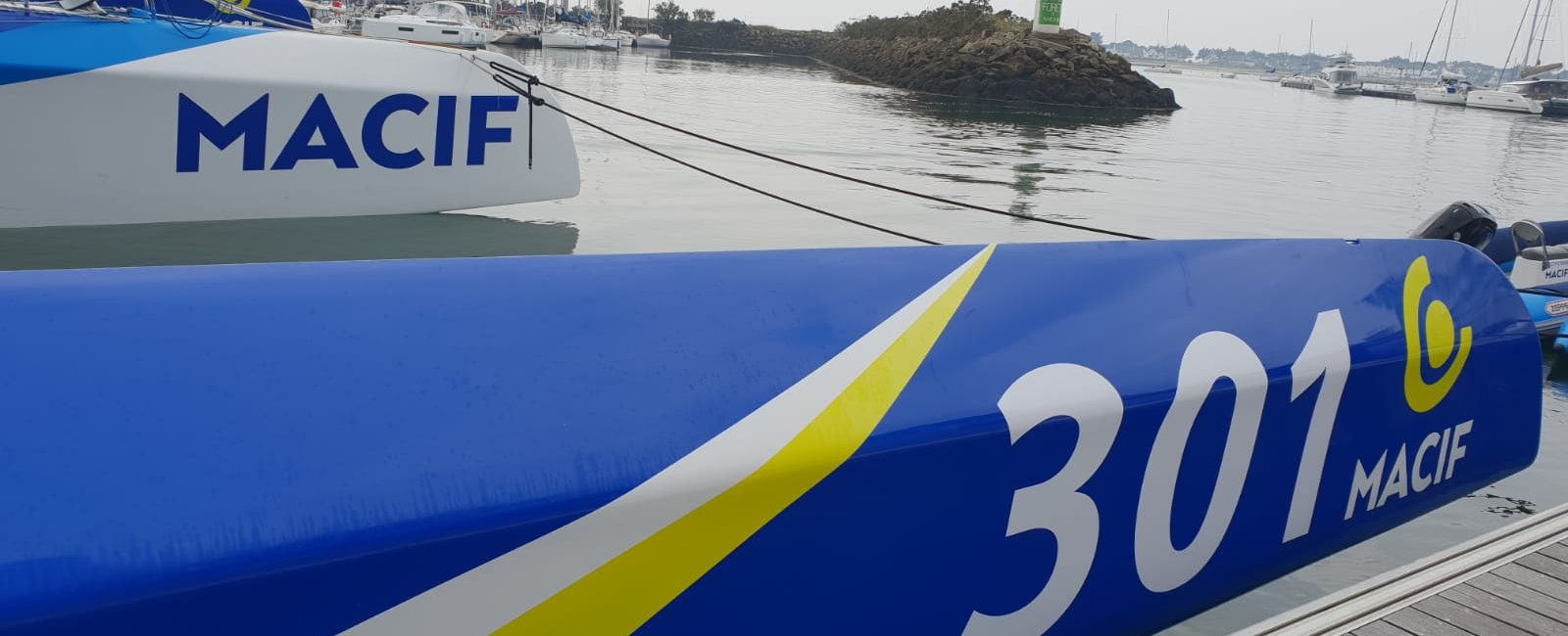 Premier check-up pour la V2 du trimaran MACIF