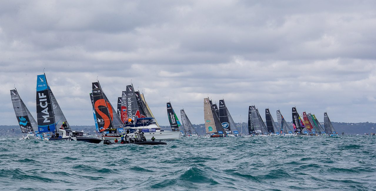 [Photo] La Solitaire du Figaro 2020 – Étape 1